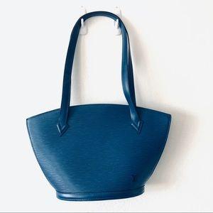 Louis Vuitton Blue Purse
